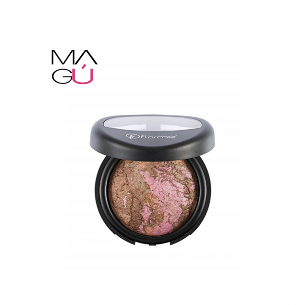 Baked Blush On Marble Pink Gold Flormar