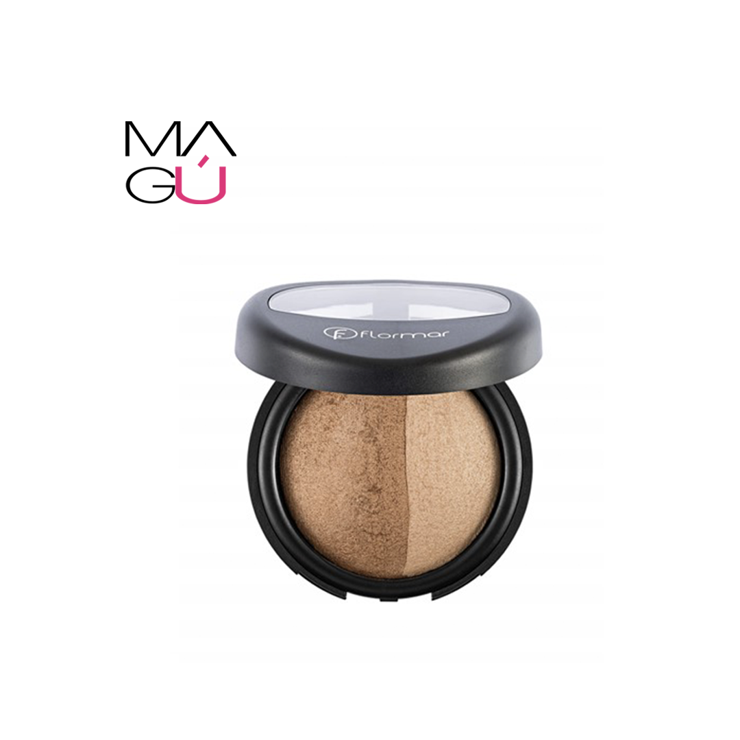 Baked Blush on Dual Gold Marca Flormar