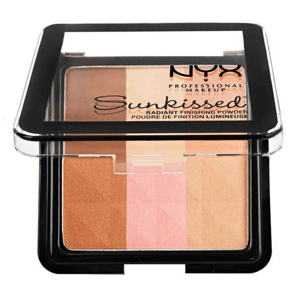 Blush radiant finishing powder NYX