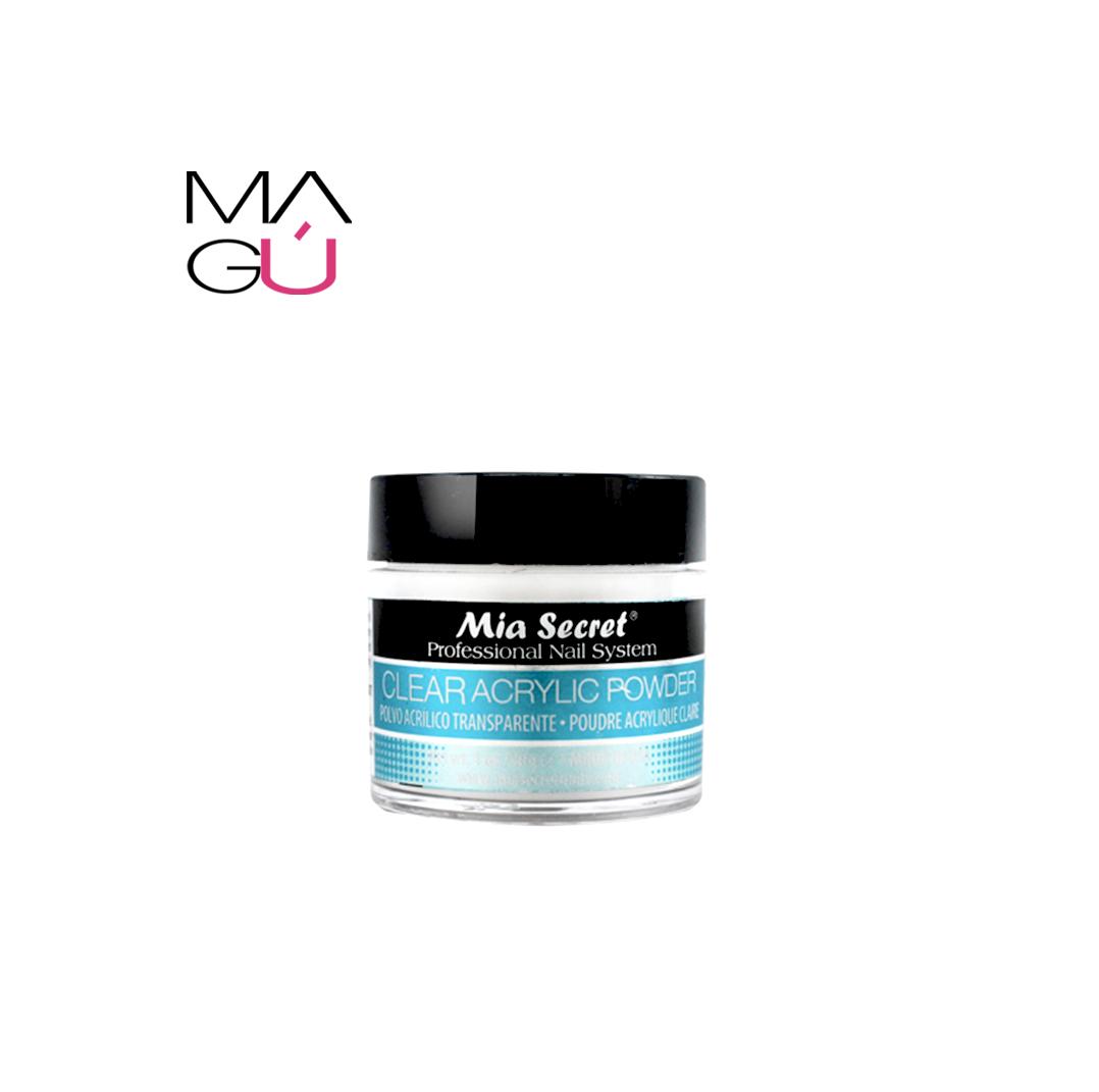 Clear Acrilic Powder Mia Secret 30gr