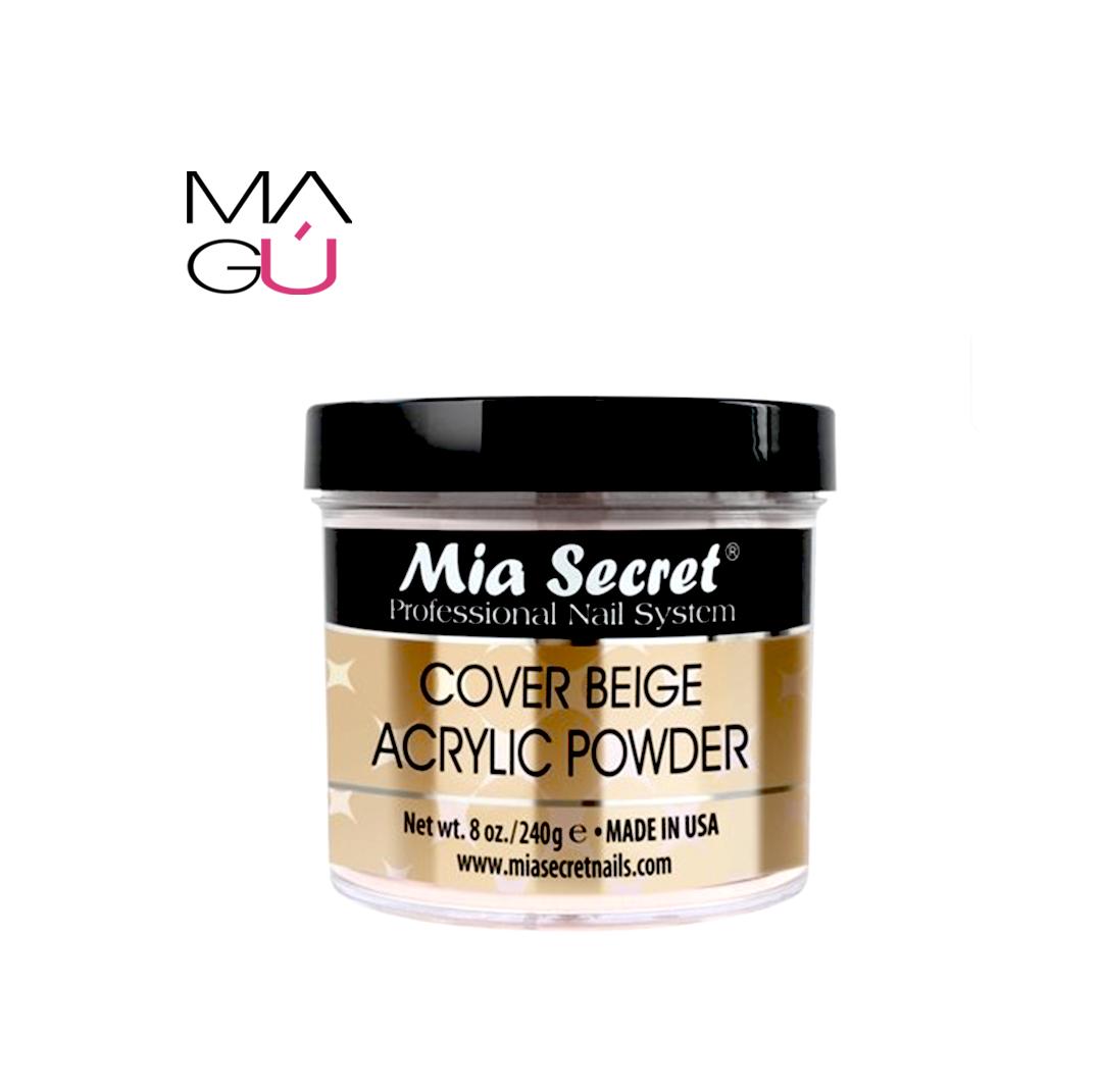 Cover Beige Acrílico Powder Mia Secret 118gr