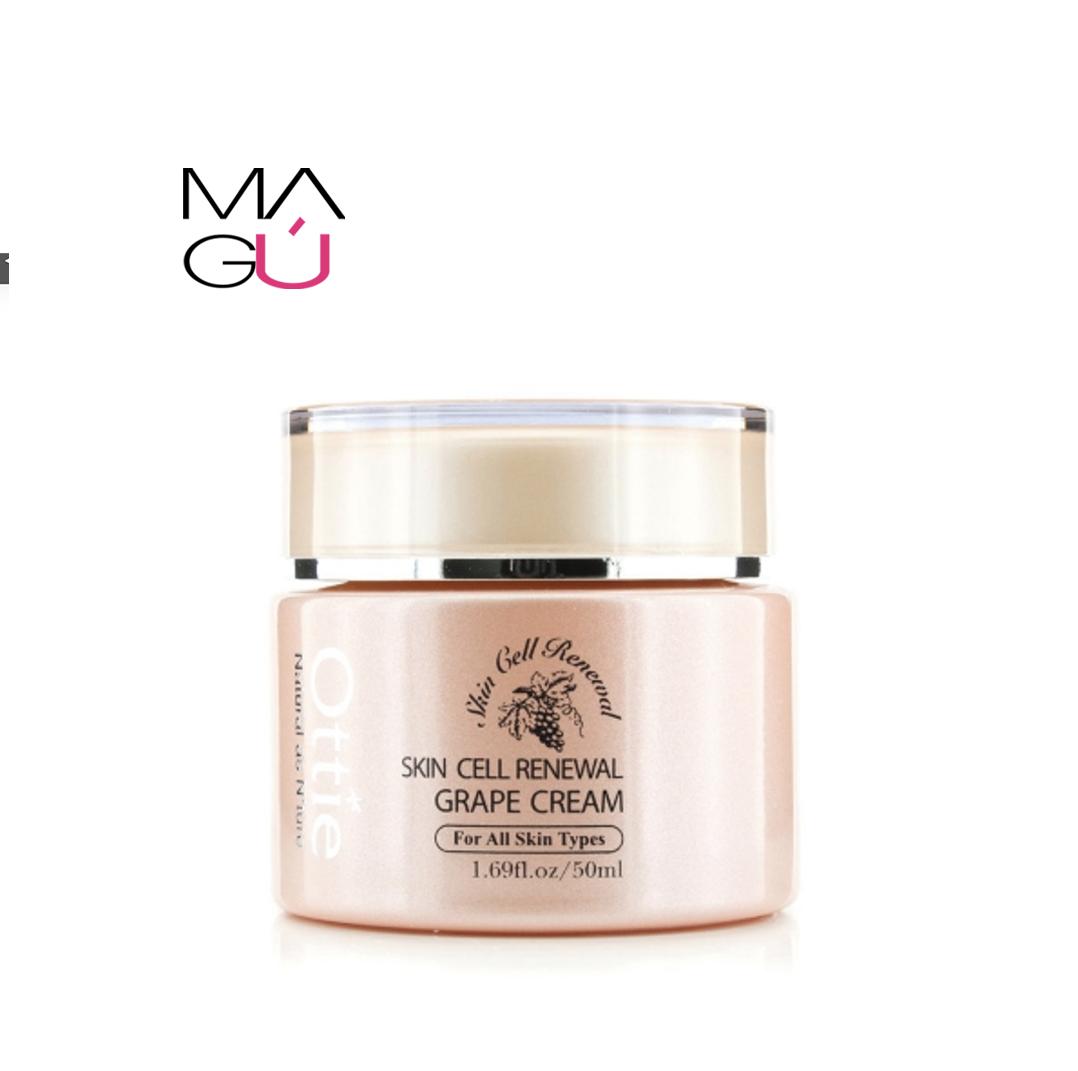 Crema Facial Skin Cell Renewall grape cream marca Ottie