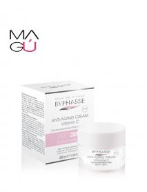 Crema facial Pro 30 a;os Vitamina C BYPHASE 50ml $ 10.99