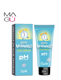 Jabón de Rostro Good Morning foam cleanser Marca Rude