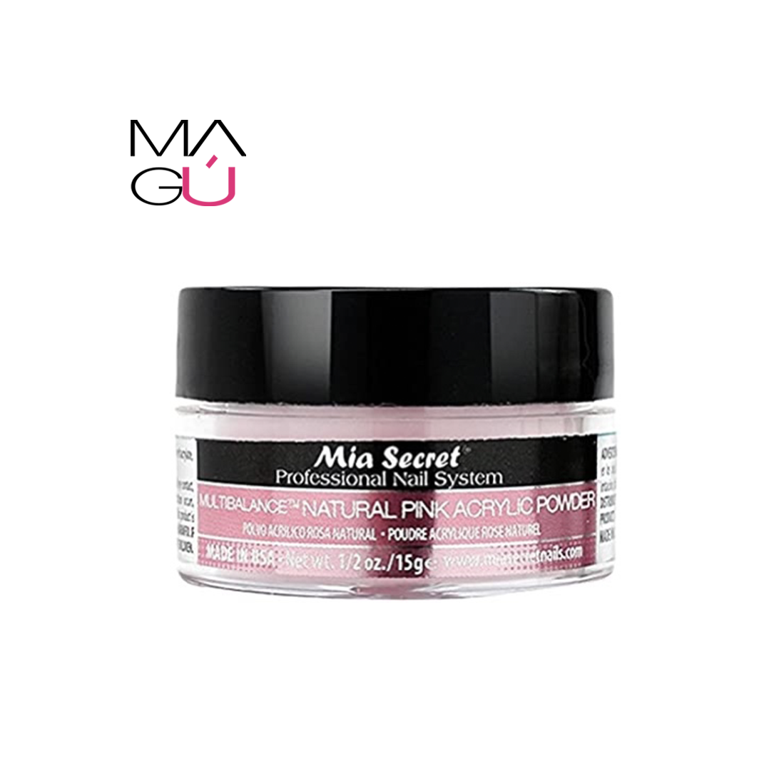 Multibalance Natural Pink Acrilic Powder Mia Secret 15gr