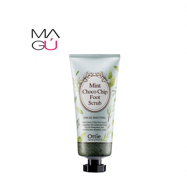 Ottie - Exfoliante Mint Choco Chip Foot 80ml