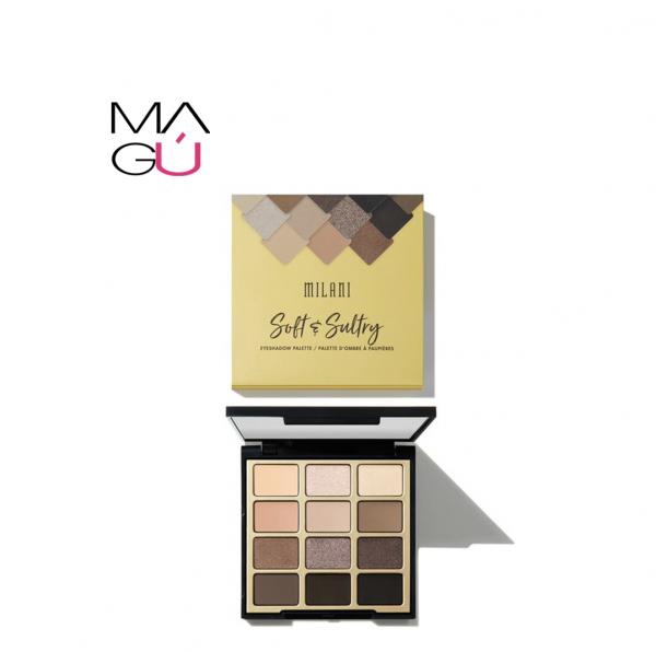 Paleta de Sombras Soft y Sultry Milani