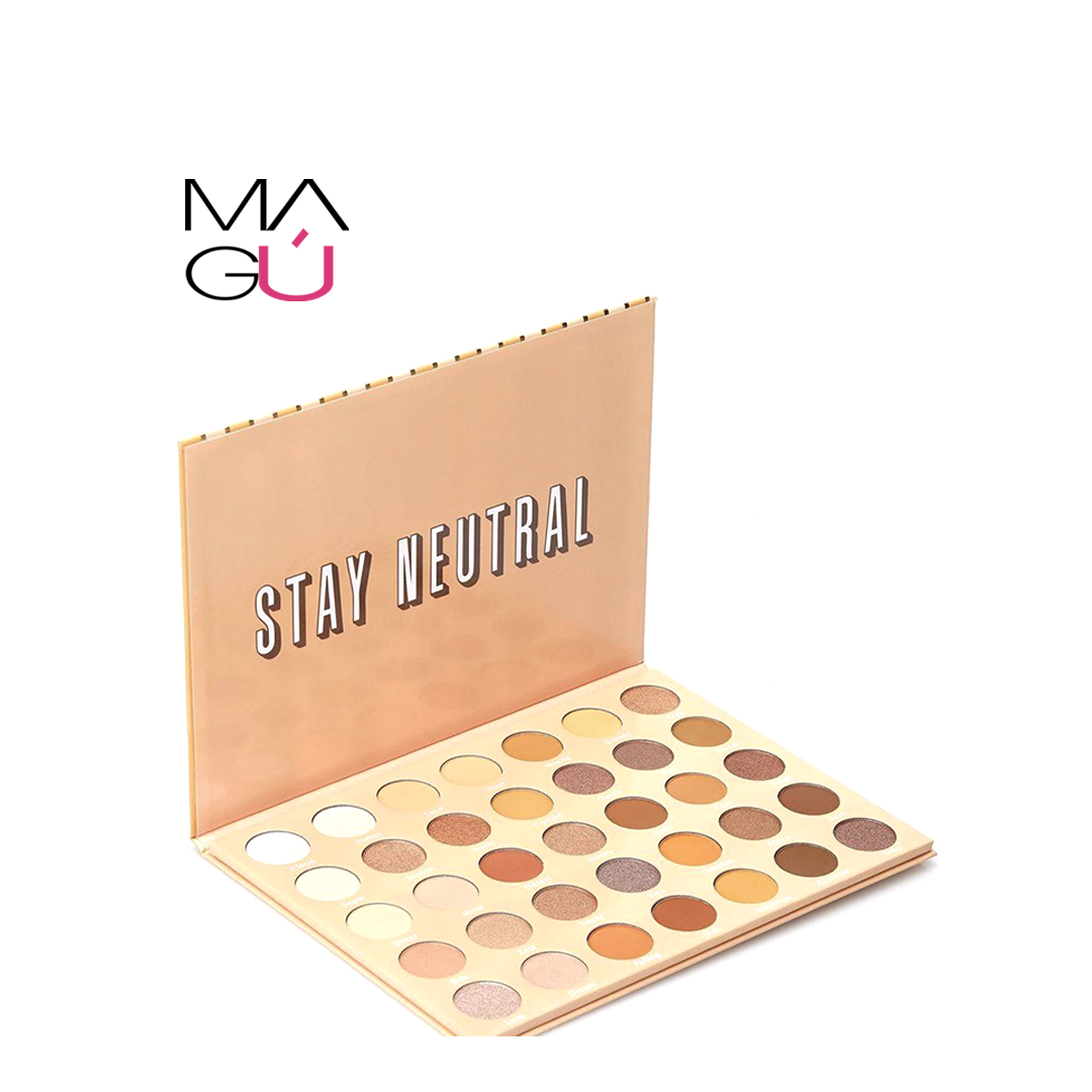 Paleta de sombras para ojos Stay Neutral Lurella Cosmetics