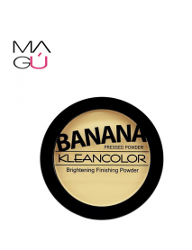 Polvo Compacto Banana pressed Powder Marca Klean Color