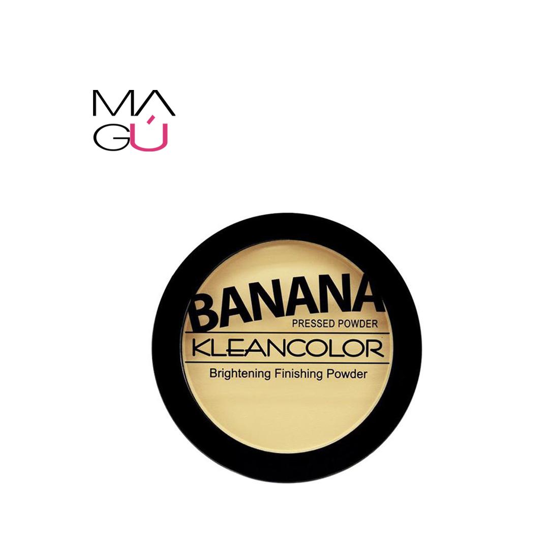 Polvo Compacto Banana pressed Powder Marca Klean Color