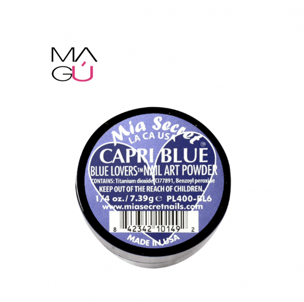 BLUE - BLUE LOVERS NAIL ART POWDER MIA SECRET