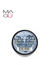 BLUE NIGHT -BLUE LOVERS NAIL ART POWDER MIA SECRET