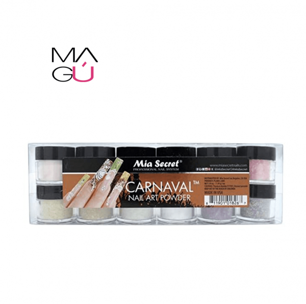 CARNAVAL NAIL ART POWDER (SET) MIA SECRET