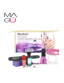 FORMAGEL CLEAR BUILDER GEL KIT MIA SECRET 8,99. 8 productos