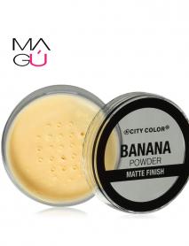 MAGU_Banana Powder Matte Finish CITY COLOR 11.6g