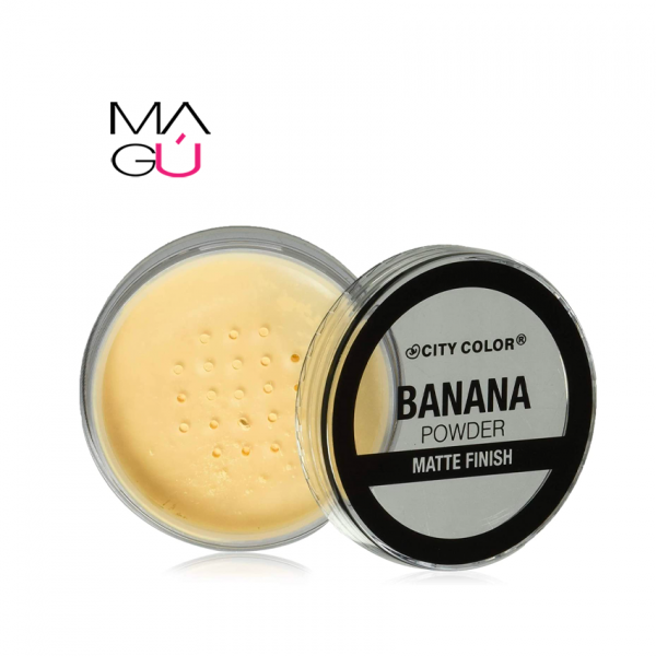 MAGU_Banana Powder Matte Finish CITY COLOR 11.6g