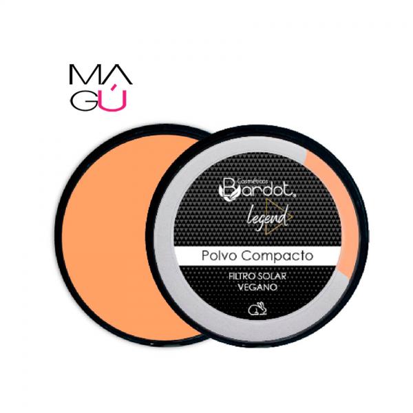 Polvo Compacto Bardot con Filtro Solar 12g