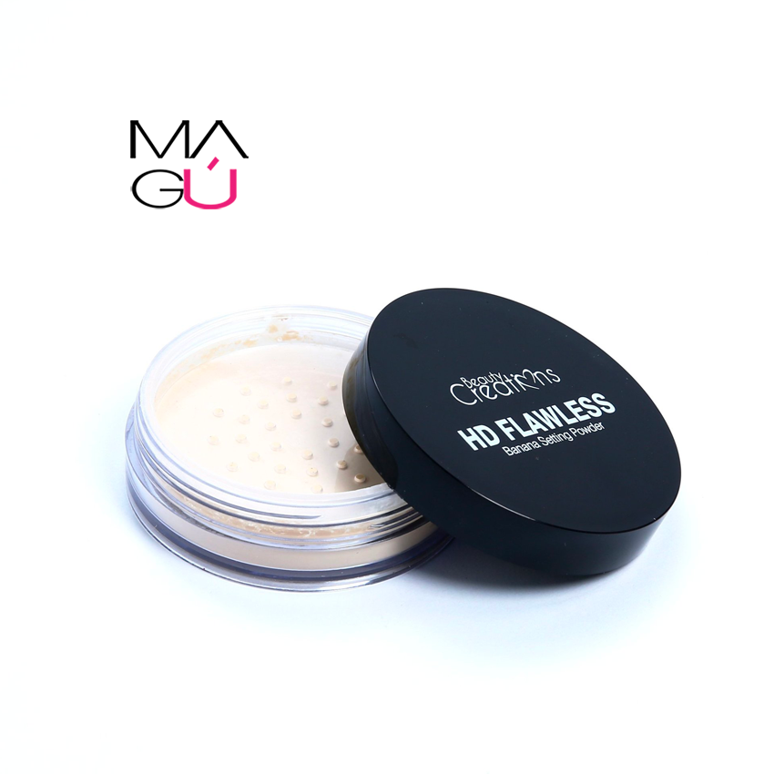 MAGU_Polvo Hd Flawless Banana Setting Powder Beauty Creations-01 Maquillaje Ecuador