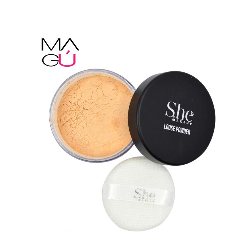 MAGU_Polvo Suelto She Makeup Loose Powder 9g