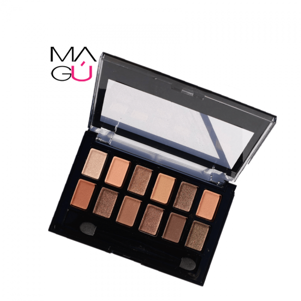MAGU_Paleta de Sombras - Amuse_01 Maquillaje Ecuador