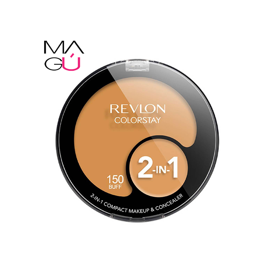 Base Revlon Colorstay 2-in-1 Compact Makeup & Concealer