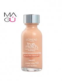 MAGU_Maquillaje True Match Super Blendable 30ml - L'Oreal Paris_01 Maquillajes Ecuador