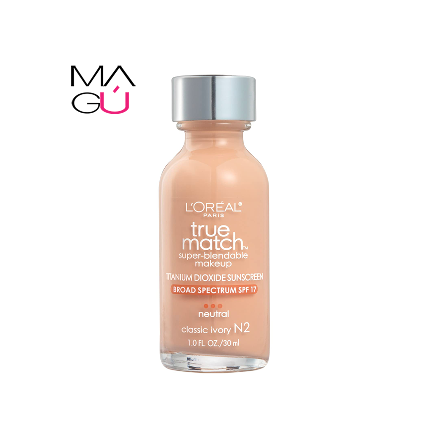 MAGU_Maquillaje True Match Super Blendable 30ml - L'Oreal Paris_01 Maquillajes Ecuador
