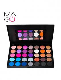 MAGU_Paleta de Sombras 35 Colors - Be Bella B35e_01 Cosméticos baratos Ecuador