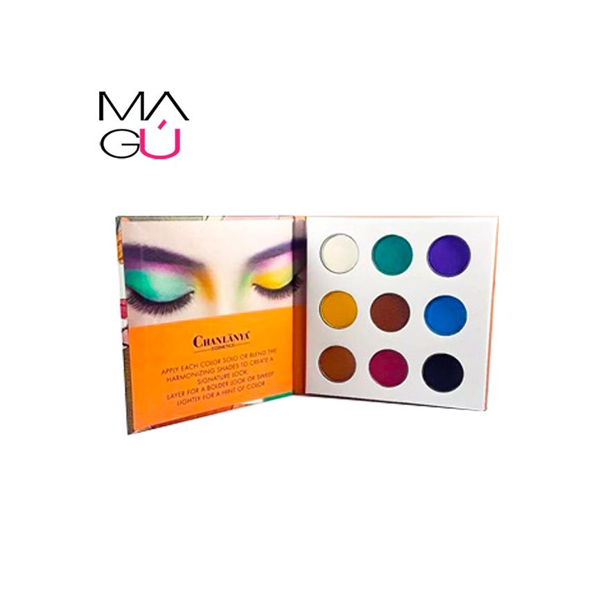 MAGU_Paleta de Sombras Chanlanya Cosmetics_01 maquillaje Ecuador