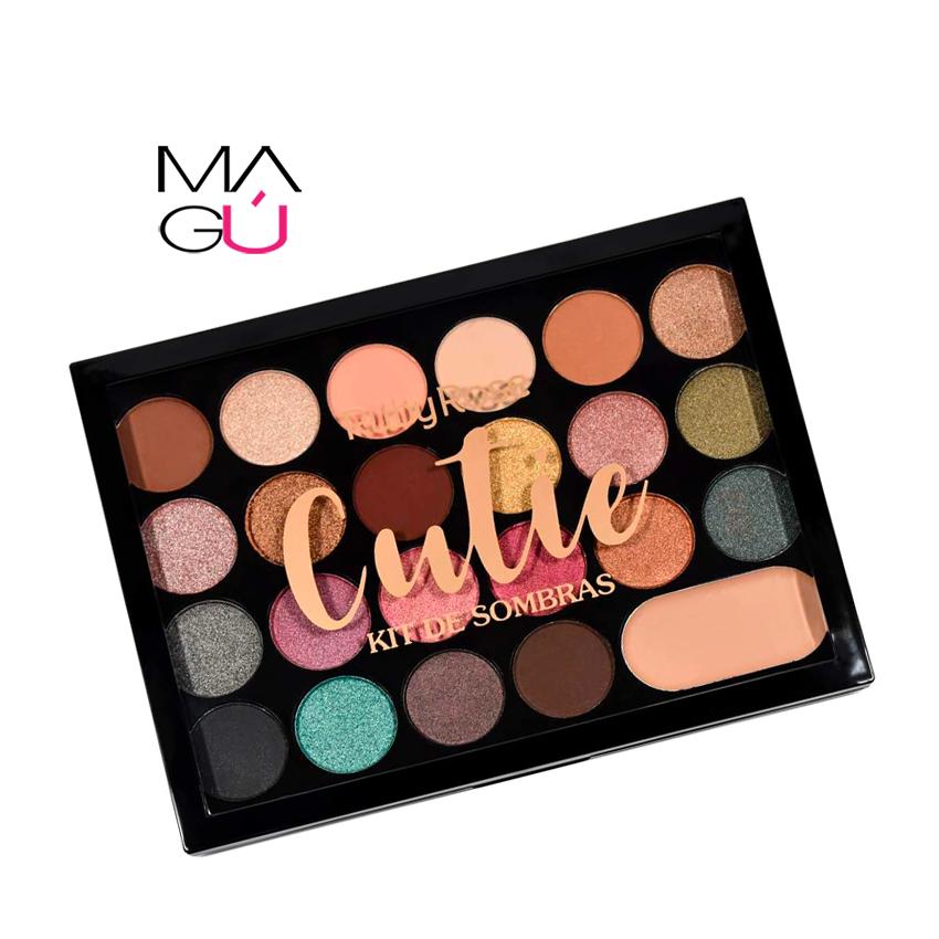 MAGU_Paleta de Sombras Cutie - Ruby Rose_01 Maquillaje Ecuador
