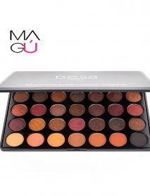 MAGU_Paleta de sombra de ojos de 35 colores cálidos-NESA_01 Cosméticos Ecuador