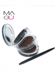 MAGU_Sombras para Cejas y Ojos Trio - Nitrq_01 Maquillaje Ecuador