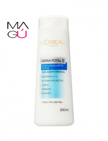 DESMAQUILLANTE SUAVE HIDRA TOTAL 5 X 200 ML. – L'ORÉAL PARIS 01