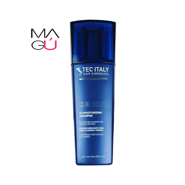 MAGU_Hi-Moisturizing Shampoo 300ml – Tec Italy