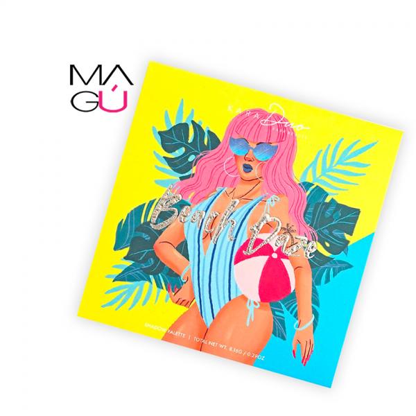 MAGU_Paleta de Sombras Beach Daze - Kara Beauty_01 maquillaje Ecuador