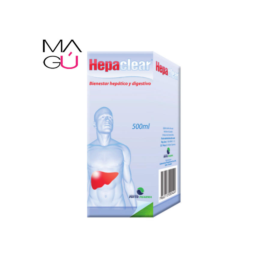 Hepatoprotector y depurativo orgánico Hepaclear