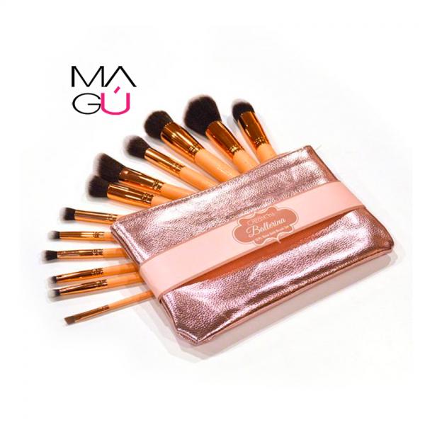 MAGU_Set De Brochas Ballerina Rose Gold – BEAUTY CREATIONS_01