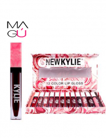 MAGU_Set 12 Labiales Lip Gloss NEW KYLIE