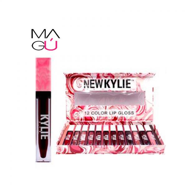 MAGU_Set 12 Labiales Lip Gloss NEW KYLIE